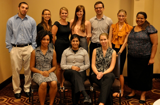 Dr. Holly Hagle and the students from the July 2012 Scaife summer session
