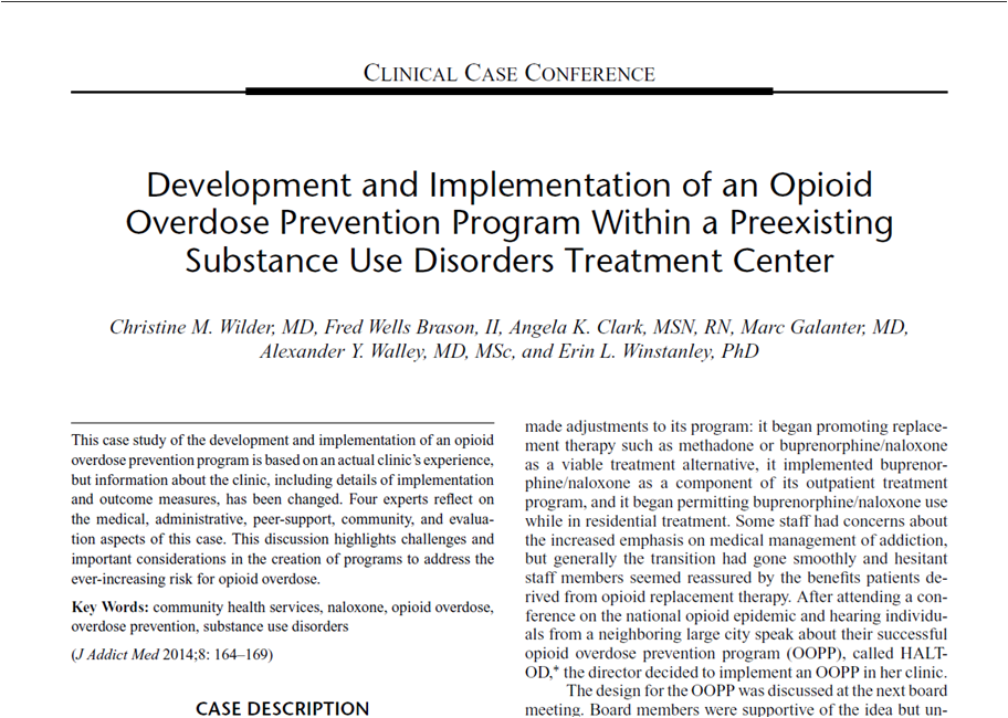 interventions for drug addiction case study Rapeutic crisis/preventive intervention, case analysis, nar- rative  this article  focuses on the drug-addicted persons, who demonstrate.
