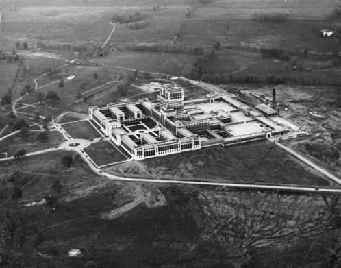 Narcotic Farm, Lexington, Kentucky, 1936. ULPA 1994.18.0748 Herald-Post Collection, 1936-10-21, Photographic Archives, University of Louisville, Louisville, Kentucky.