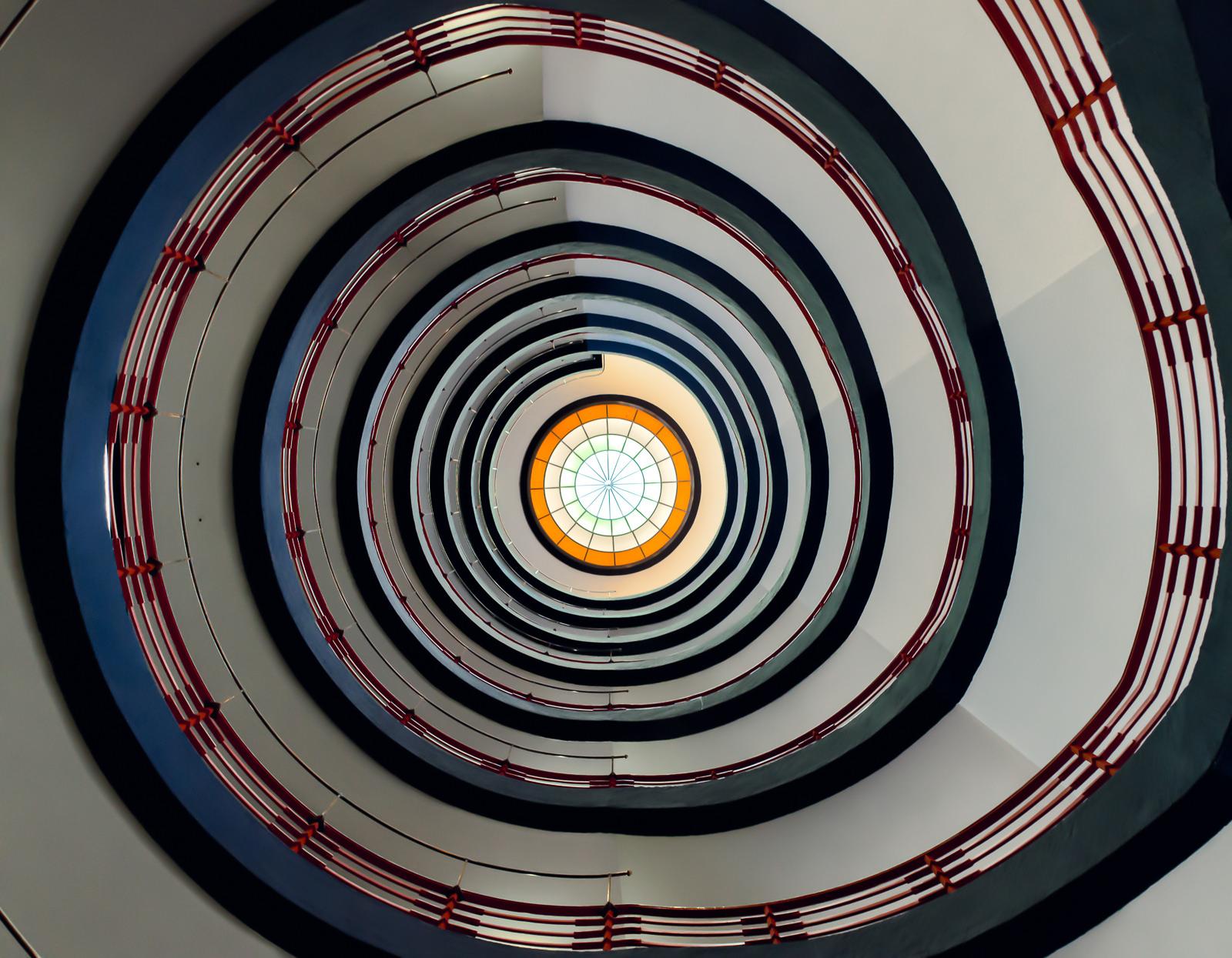 Spiral Staircase. Credit: Roman Pfeiffer